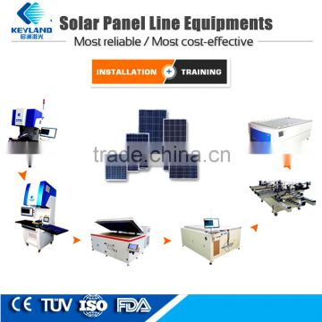 Keyland Solar Cell Soldering Production Machines Train Free