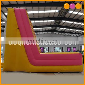 Custom inflatable manufacturer colorful inflatable climbing wall for sale