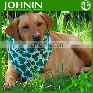 2016 China made cheap custom logo design printed dog bandanas