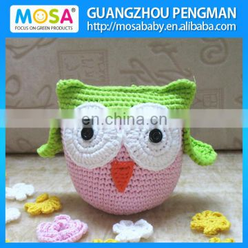 Knitted Stuffed Lovely OWL Doll