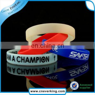 High quality bulk cheap silicone wristbands