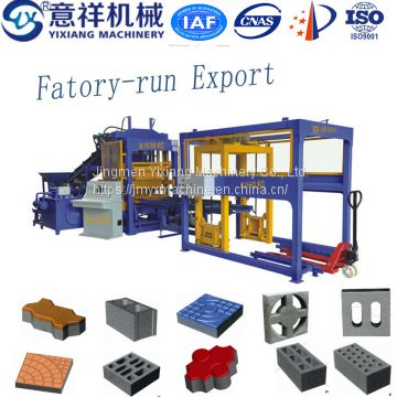 automatic laying block making machine for glass block and paving blocks