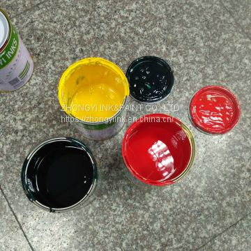 solvent based screen inks