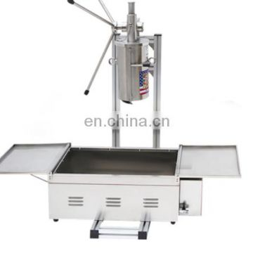 Hot Popular High Quality fried churros making machine/Spanish churros maker for sale