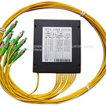 Single Mode FBT Optical Fiber Coupler Splitter