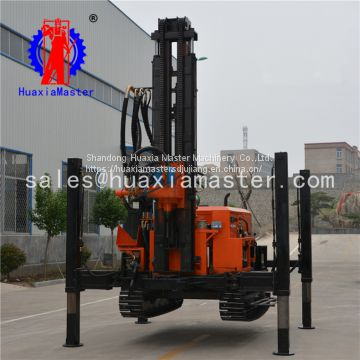High quality low price crawler pneumatic water well drilling machinery spot supplies