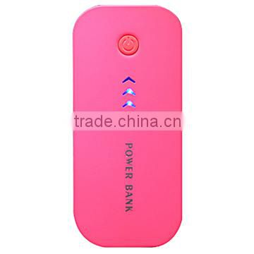 Big Arrow design 8400mAh portable power Bank with LED flashlight