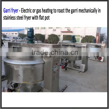 Full Automatic Cassava Flour Fufu Garri Processing Machine