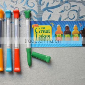 plastic ball pen with banner pen function