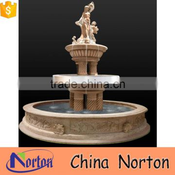 good price ornamental outdoor garden water fountain marble NTMF-W038X