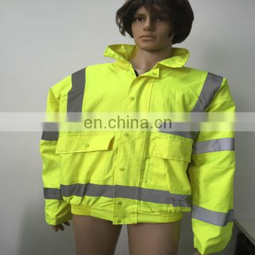 High Visibility Waterproof Winter Warm Safety Reflective Jacket