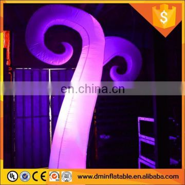 2015 festival inflatable LED pillar/wedding decoration 2012 / wedding stage decoration