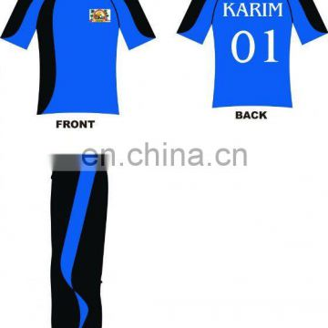 CUSTOM Cricket Jersey with digital printing High quality Polyester