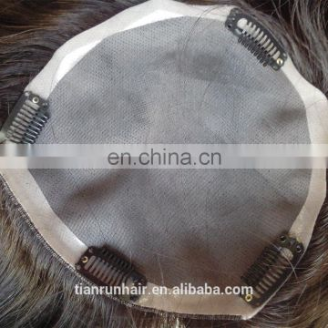 Nature Human Hair Toupee For Womens Quality Virgin Chinese Human Hair Mens Toupee