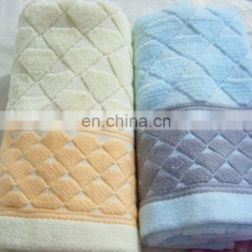 terry jacquard face towel