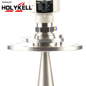 Holykell OEM 4-20mA RS485 Radar Level Sensor For River Grain Silo