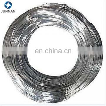 Direct factory selling shiny zinc wire gi bending wire 10kg per coil