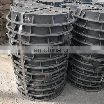 factory supply ductile iron vented manhole cover
