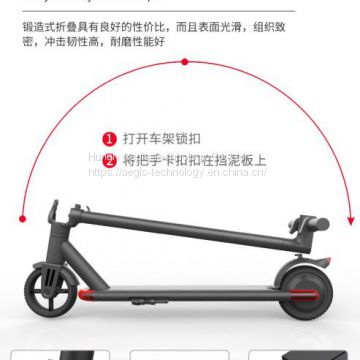 factory directly supply wholesale folding lightest 2 wheel smart self balancing electric scooter with handle bar