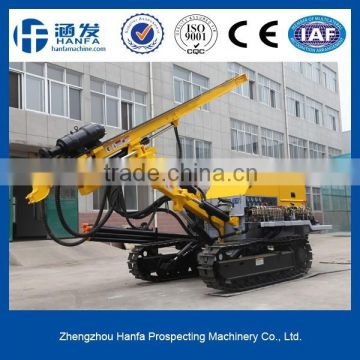 used for rock bolts & soil nails! high efficient, crawler mounted HF140Y bore pile drilling machine                                                                         Quality Choice