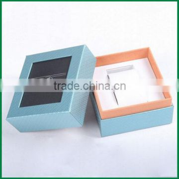 Custom logo paper box for watch, Cardboard watch box, Paper watch box