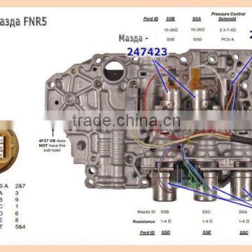 ATX 5F27E FNR5 automatic transmission valve body gearbox parts