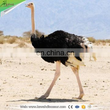 KAWAH Animal Park Life Size Robotic Ostrich statue for garden decoration