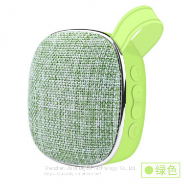 X25 cloth art pattern bluetooth speaker portable outdoor mini small speakers low sound gun plug-in card bluetooth speake