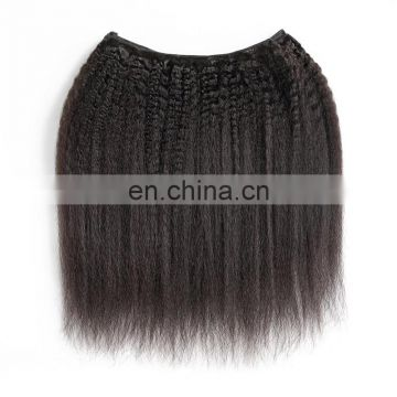 2017 hot sale 8a grade natural raw indian hair kinky straight hair