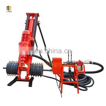 Wide range capacity moveable engineering machine mobile anchor drilling rigs with top quality