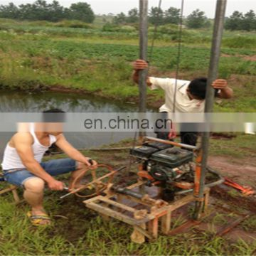 soil/earth drilling equipment/small water well drilling rig for sale