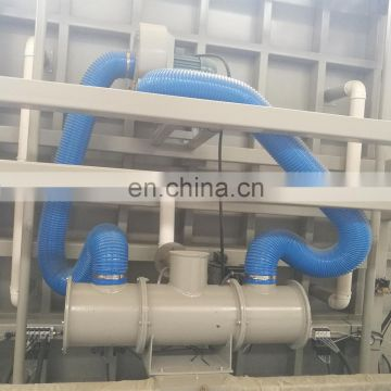 Curtain wall double glass machine 2500*1800mm