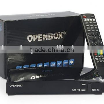 New Arrival Openbox V8S Powerful Smart DVB-S2 Satellite TV Decoder