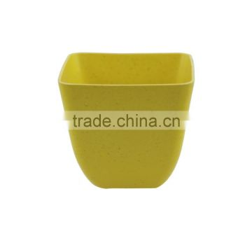 High standard Degradable Practical bamboo fiber eco flower pot