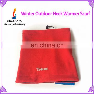 High Quality Hooded Scarf Hat, Hats And Scarf, Functional Fleece Hat