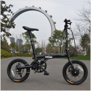 folding bike electric bike lithium tram electric bicycle 16inch