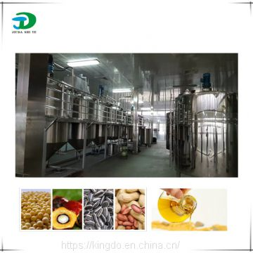 Crude oil refining plant, crude palm oil refinery machine, cottonseed oil extraction plant