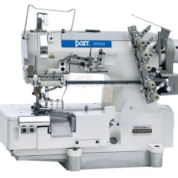 DT500-05CB/FT/DD Direct Drive High Speed Industrial Elastic or Lace Attaching Interlock Coverstitch Sewing Machine