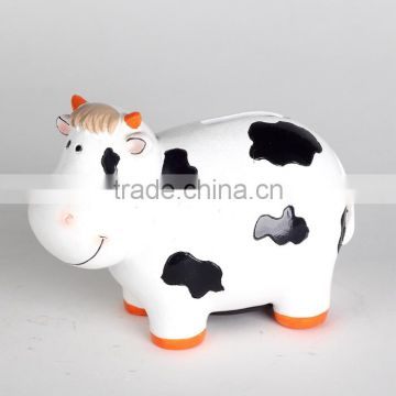 Big dog shape coin bank money box for home decoration gift