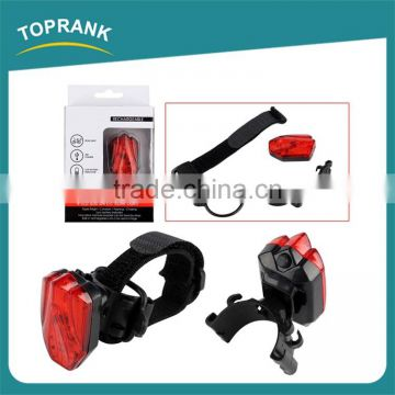 High quality waterproof bike light 4 LED USB safety bicycle rear light