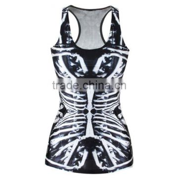 wholesale custom cheapest 100%poly interlock all over sublimation printing vest