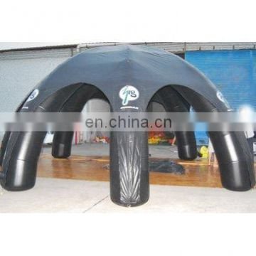 Inflatable tent, inflatable spider tent(with clear doors),6-leg tent