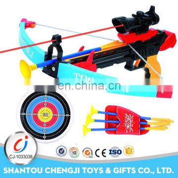 Wholesale newest funny plastic shooting toy pistol crossbow for kids