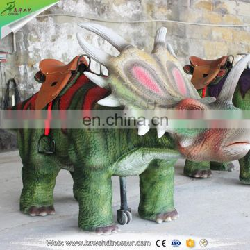 KAWAH Mini electric dinosaur ride amusement mechanical dinsoaur ride