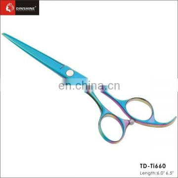 Hot !!! Multicolor Hair Scissors nice Salon Scissors best barber scissors