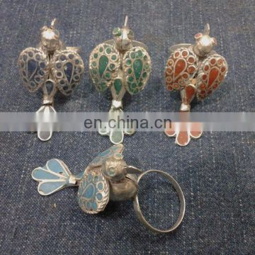Afghan Tribal Bird Rings
