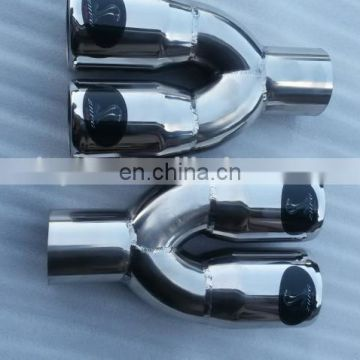 Universal Car Stainless Steel EXHAUST Tail Muffler Tip Pipe