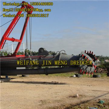 Sand Pumping Ship Cutter Suction Dredger 30kw Genset Power Reclamation Construction