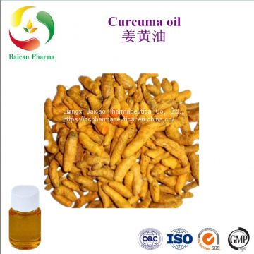 CAS NO. 8024-37-1 manufacturer best price Curcuma Oil for food additives food flavour, cosmetic,animal feed & therapy