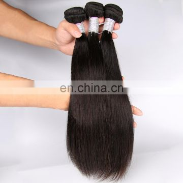 Large Stock! 7A 8A Brazilian Human Hair Extension Weaving, one donor Human Hair Weft, Humen Straight